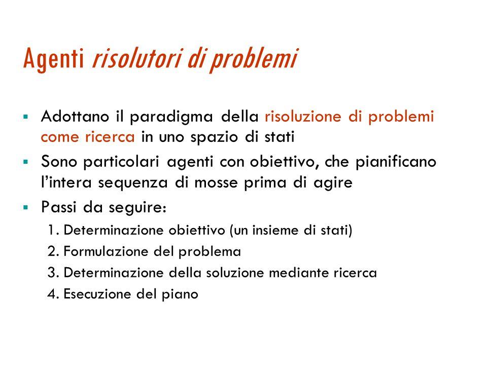 Gli agenti per il problem solving Maria Simi a.a 2007/2008