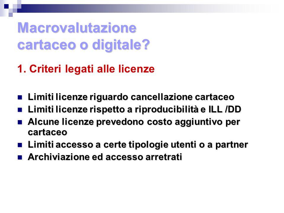 Macrovalutazione cartaceo o digitale. 1.