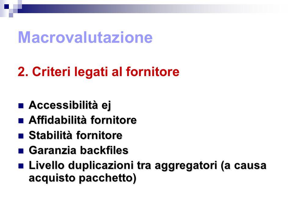 Macrovalutazione 2.