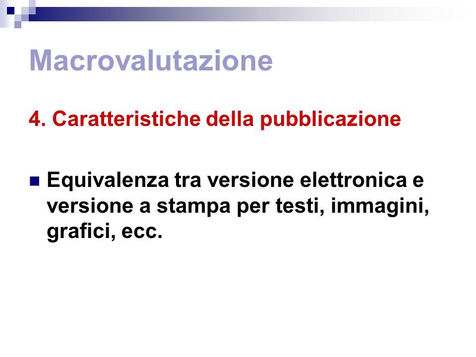 Macrovalutazione 4.
