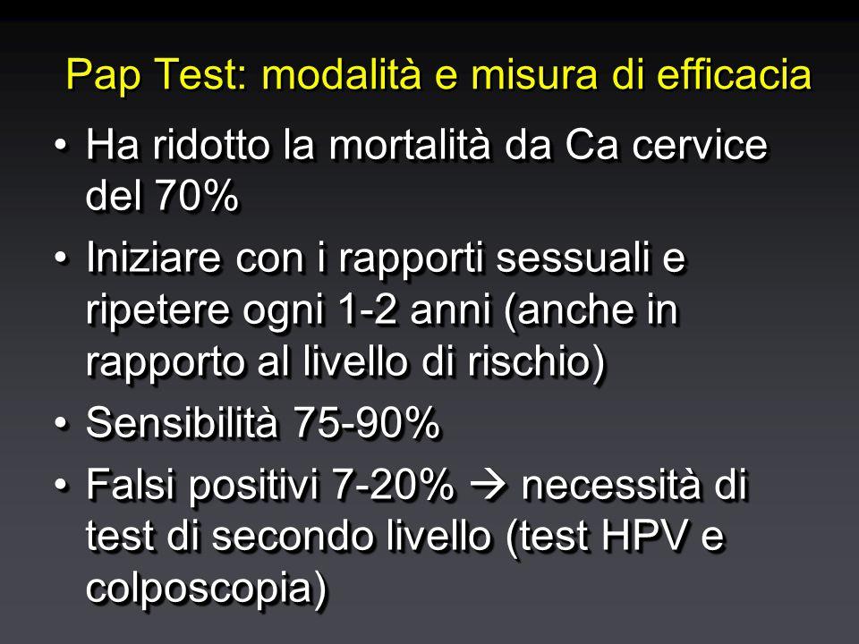 cervice Colposcopia Biopsia guidata