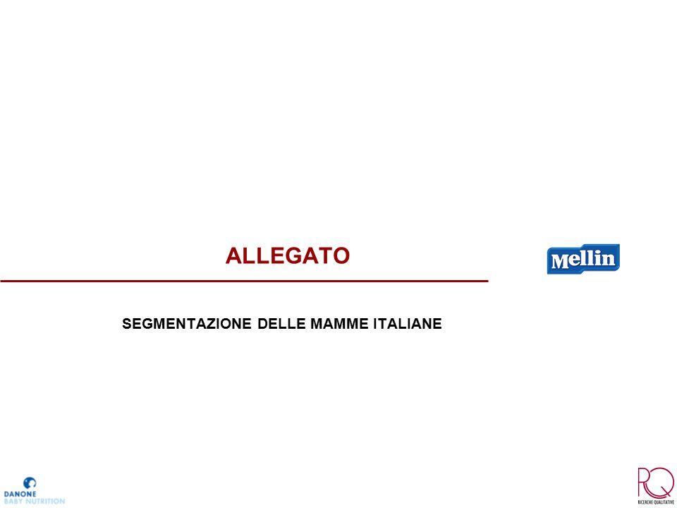 ALLEGATO SEGMENTAZIONE DELLE MAMME ITALIANE