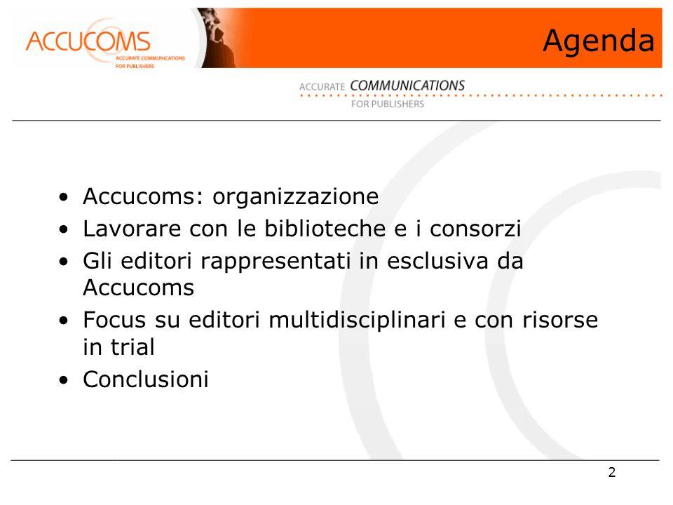 43 GRAZIE Stefania Scala – Sales Manager Southern Europe stefania.scala@accucoms.com