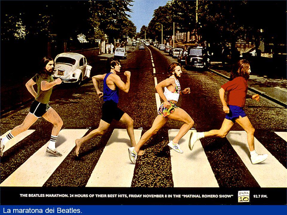 La maratona dei Beatles.