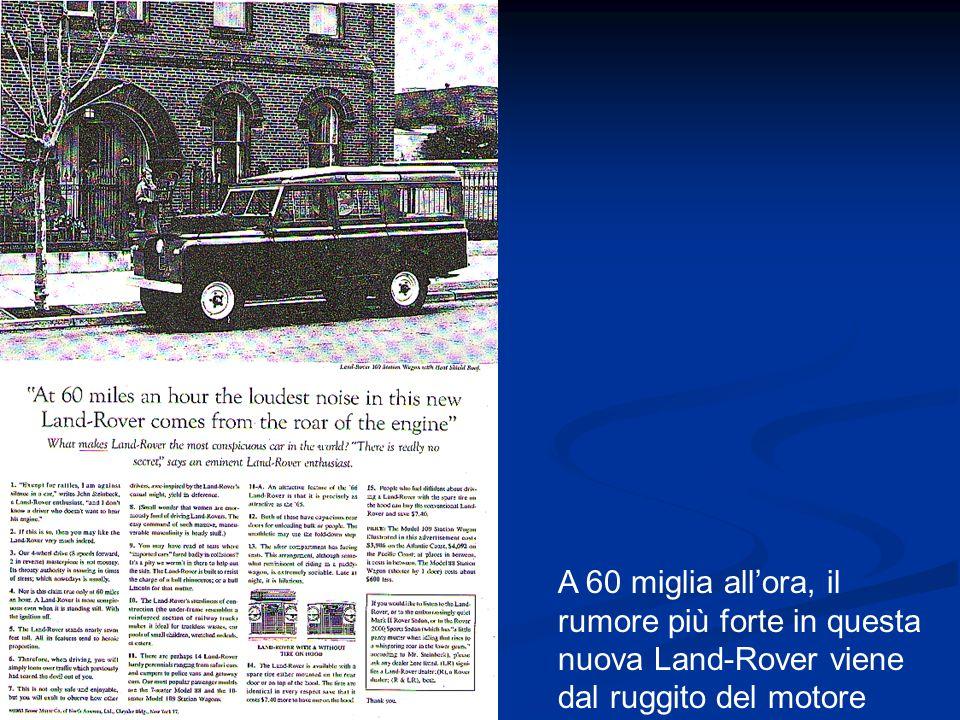 A 60 miglia all'ora, il rumore più forte in questa nuova Land-Rover viene dal ruggito del motore