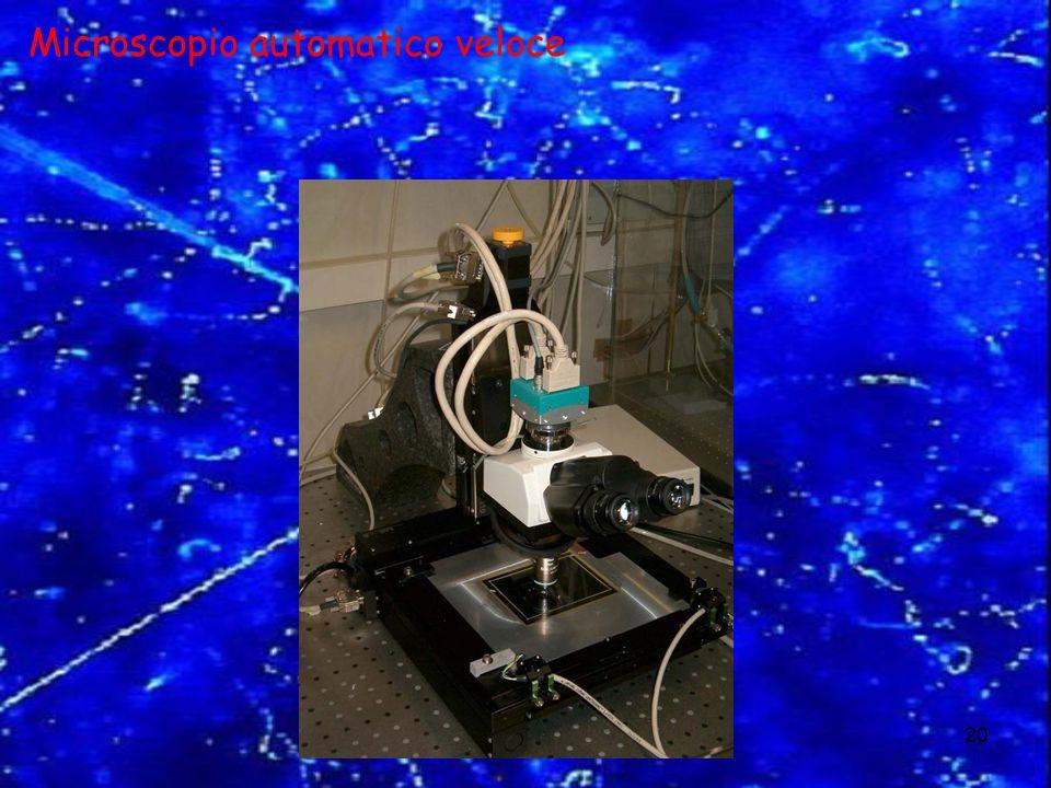 Le Astroparticelle20 Microscopio automatico veloce