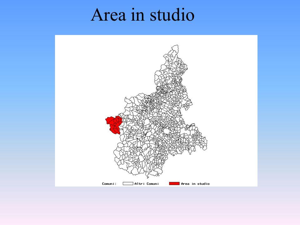 Correlazione spaziale : Asbesto e mesoteliomi - l'alta Valle Susa _________________________________________________ Lo studio mesoteliomi dell'Alta Va
