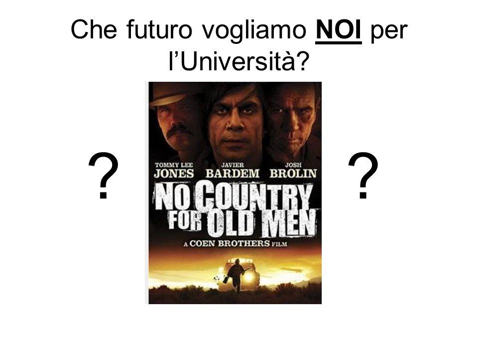 Che futuro vogliamo NOI per l'Università