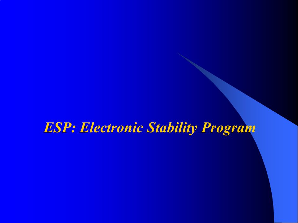Conclusioni Sistemi embedded ovunque –Automotive Electronic Stability Program –Soluzione Bosch per ESP® -17 milioni di dispositivi(2005) –ECU di Infineon