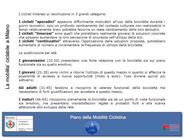 Obiettivi: A.Sviluppo della RETE CICLABILE B.