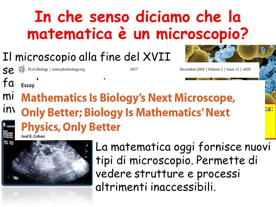 Il microscopio alla fine del XVII secolo provocò una rivoluzione facendo conoscere i microorganismi che prima erano invisibili.