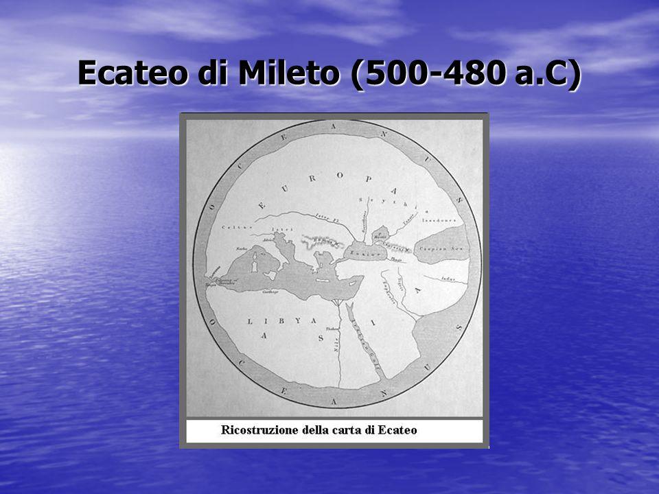 Ecateo di Mileto (500-480 a.C)