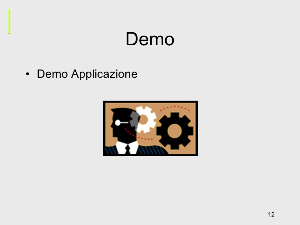 12 Demo Demo Applicazione