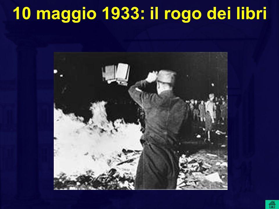 10 maggio 1933: il rogo dei libri