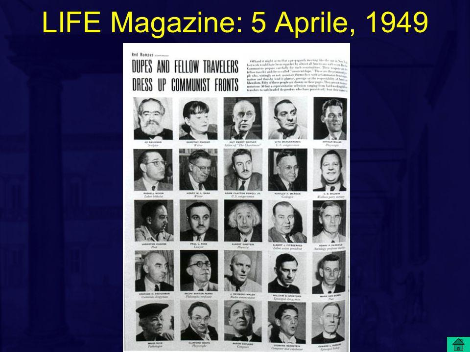 LIFE Magazine: 5 Aprile, 1949