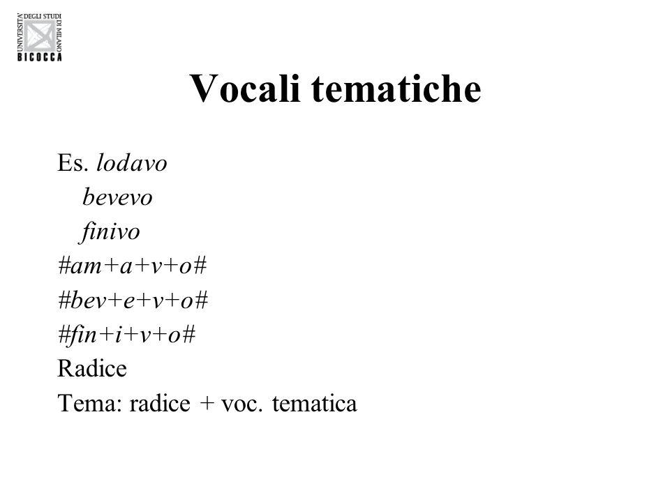 Vocali tematiche Es.