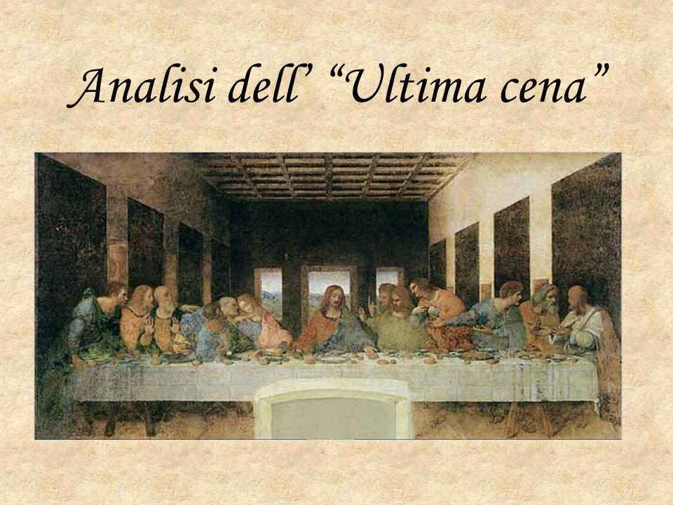 """Analisi dell' """"Ultima cena"""""""