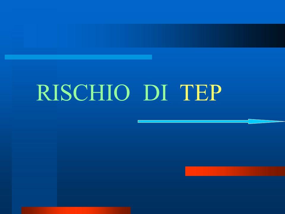 RISCHIO DI TEP