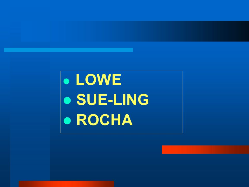 LOWE SUE-LING ROCHA