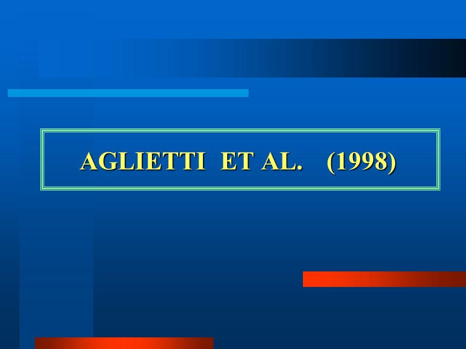 AGLIETTI ET AL.(1998) AGLIETTI ET AL.(1998)