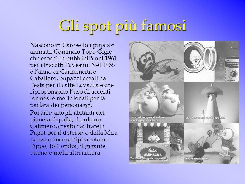 """""""questa mostra è stata promossa da Rai, Sacis e Sipra per celebrare i quarant'anni della nascita di Carosello e rendere omaggio, attraverso di esso, a"""