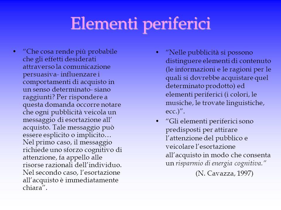 """La comunicazione persuasiva """"La pubblicità è il luogo in cui esplicitamente le strategie persuasive vengono impiegate per raggiungere due obiettivi pr"""