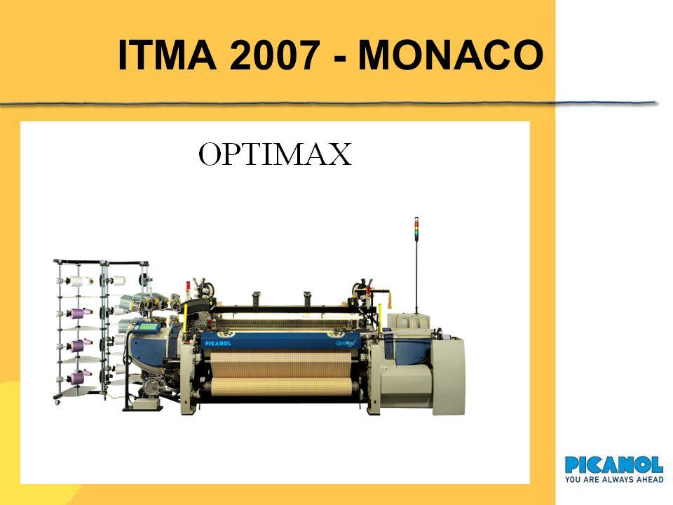 ITMA 2007 - MONACO PICANOL NV Ter Waarde 50 8900 IEPER – Belgium www.picanol.be ITMA 2007 (Munich) 13-20 Settembre Hall B4 – Booth 304