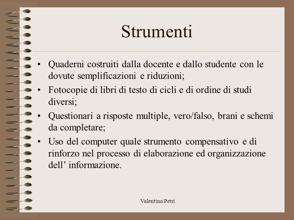 Valentina Petri Profilo dinamico funzionale