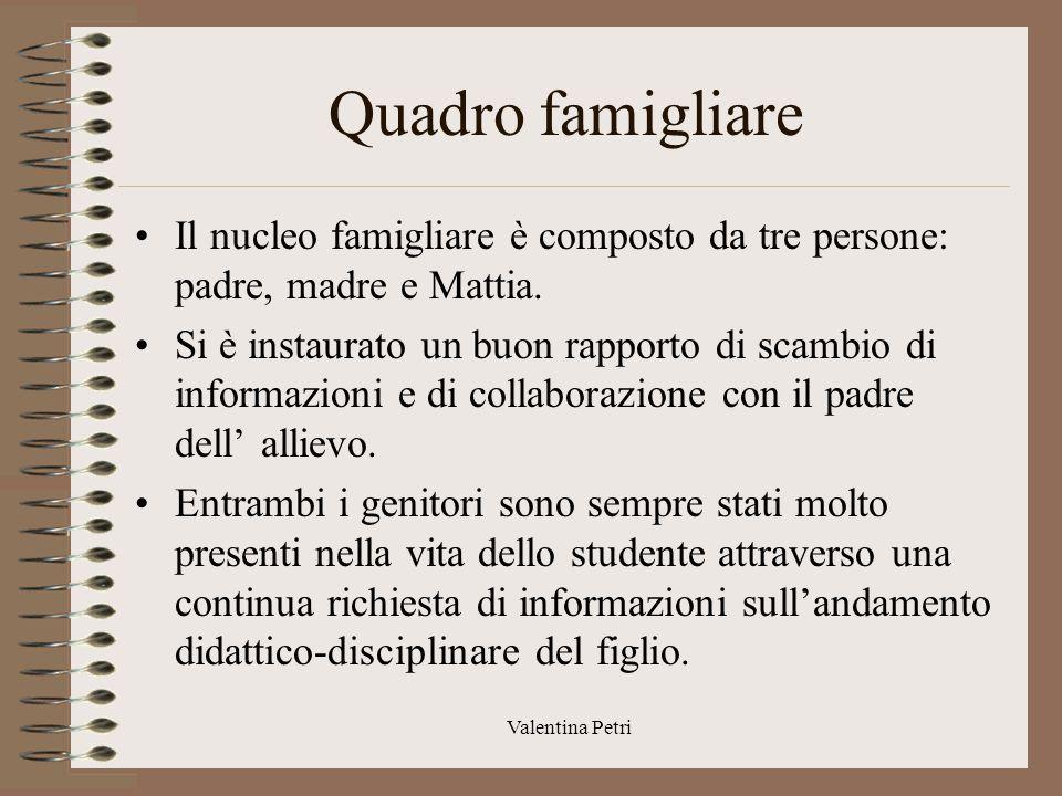 Valentina Petri Diagnosi clinica, funzionale, funzionalità delle aree