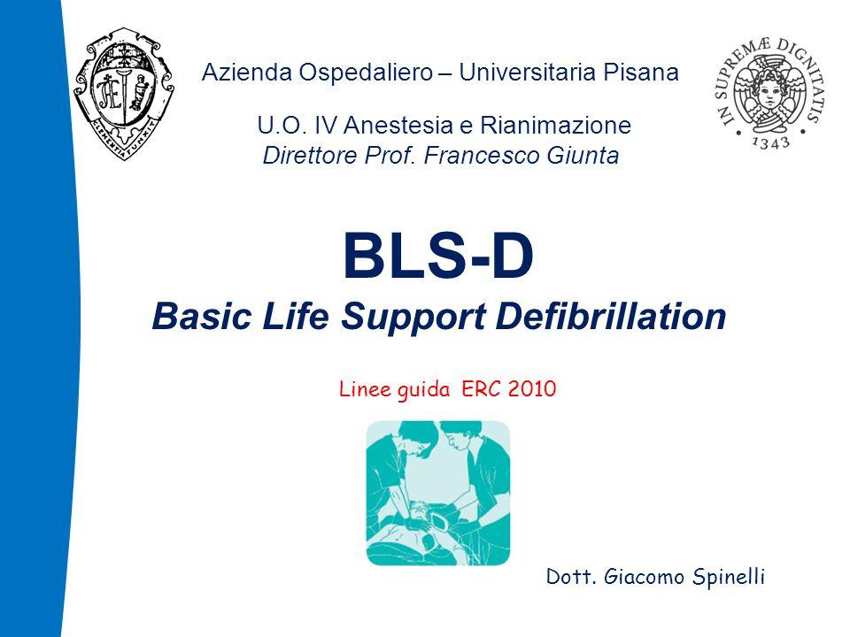 Azienda Ospedaliero – Universitaria Pisana U.O.IV Anestesia e Rianimazione Direttore Prof.