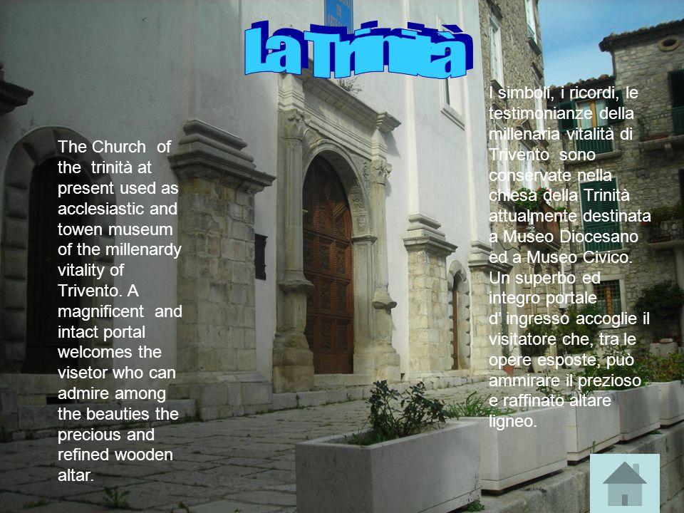 Santa croce è un antico edificio sorto nel 1397.