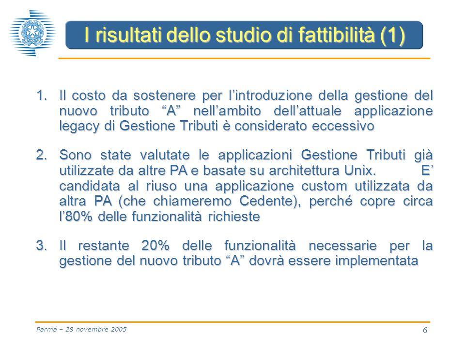 6 Parma – 28 novembre 2005 1.