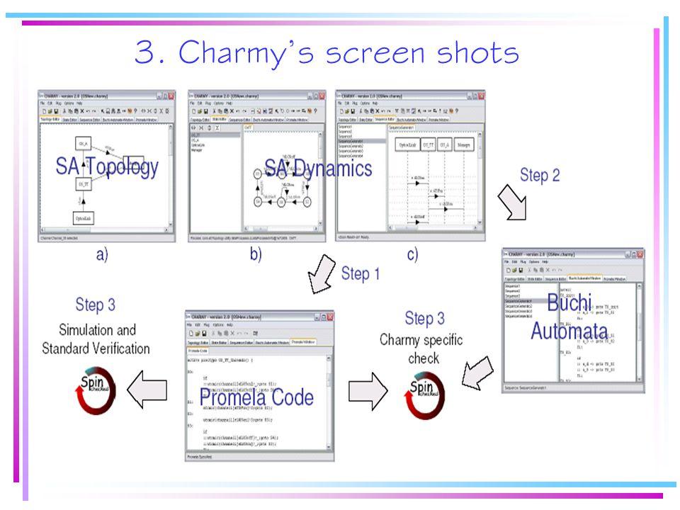 3. Charmy's screen shots