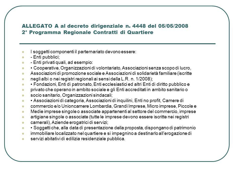 Milano I Contratti di Quartiere sono programmi innovativi in ambito urbano, finalizzati alla riqualificazione di quartieri urbani a prevalente presenza di edilizia residenziale pubblica, caratterizzati da degrado ambientale, scarsa coesione sociale, diffuso disagio abitativo ed occupazionale e carenza di servizi.
