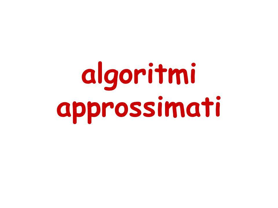 algoritmi approssimati