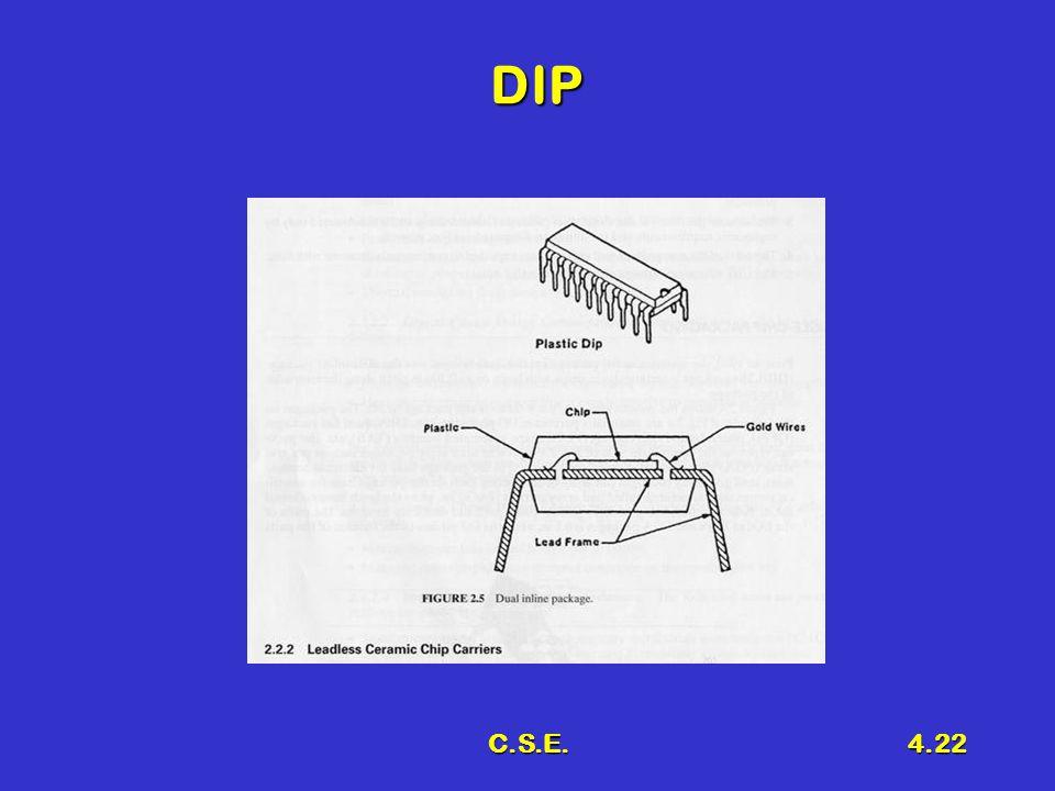 C.S.E.4.22 DIP