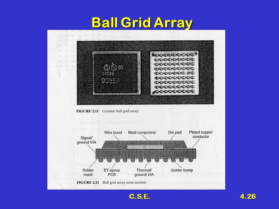 C.S.E.4.26 Ball Grid Array