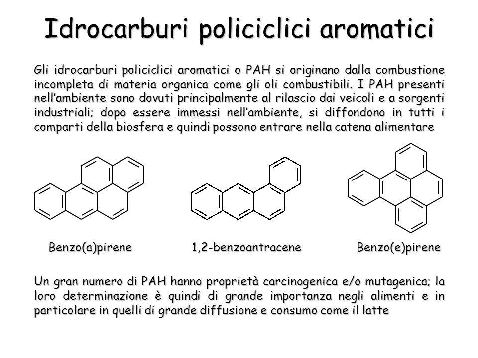 Gli idrocarburi policiclici aromatici o PAH si originano dalla combustione incompleta di materia organica come gli oli combustibili.