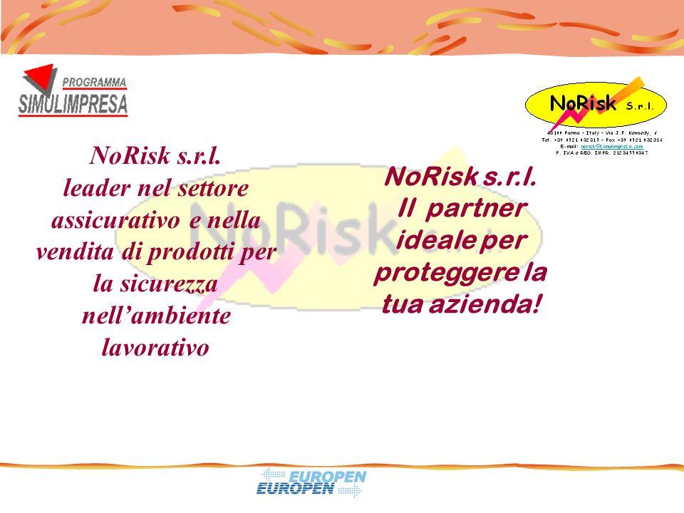 NoRisk s.r.l. leader nel settore assicurativo e nella vendita di prodotti per la sicurezza nell'ambiente lavorativo NoRisk s.r.l. Il partner ideale pe