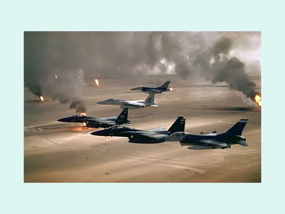 Il 2 agosto del 1990 il ra'īs (Presidente) iracheno Saddam Husayn invase il vicino Stato del Kuwait in nome di un antica ma infondata pretesa di Baghdad di recuperare un territorio che sarebbe stato iracheno.