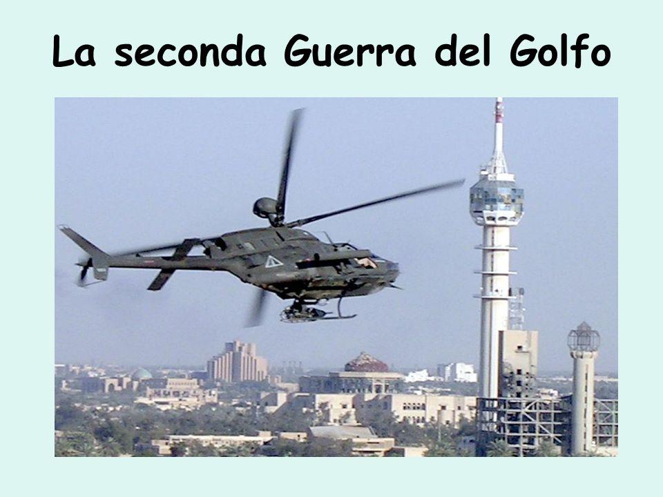 La seconda Guerra del Golfo