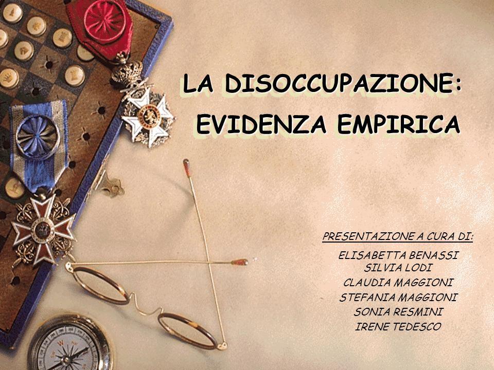 DISOCCUPAZIONE GIOVANILE DISOCCUPAZIONE NELLE AREE ITALIANE DISOCCUPAZIONE MASCHILE E FEMMINILE IN EUROPA DISOCCUPAZIONE IN EUROPA E ITALIA DISOCCUPAZIONE MASSIMA E MINIMA IN EUROPA