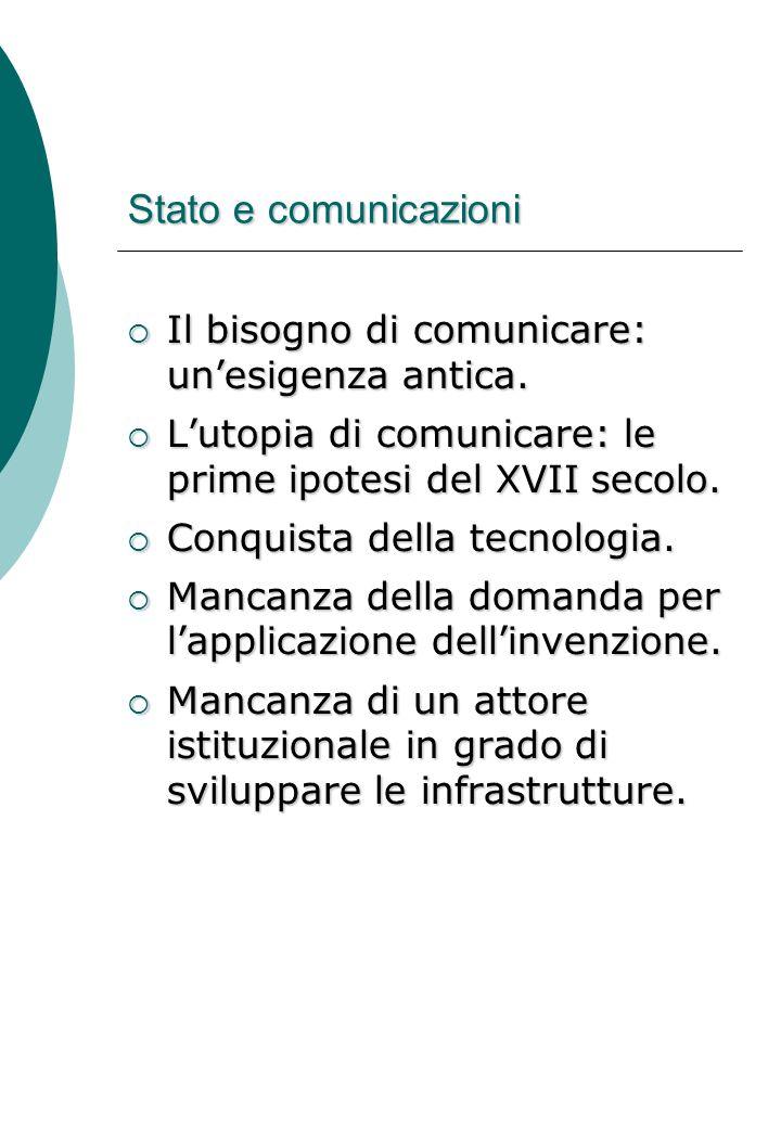 Il bisogno di comunicare: un'esigenza antica.