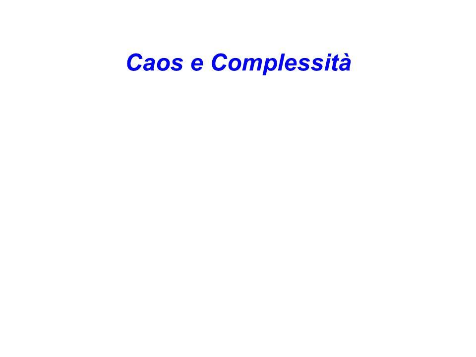 Caos e Complessità