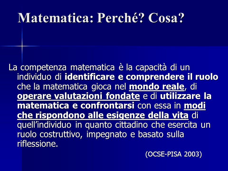 MISURA, DATI PREVISIONI INVALSI Il collettivo statistico e i suoi elementi.