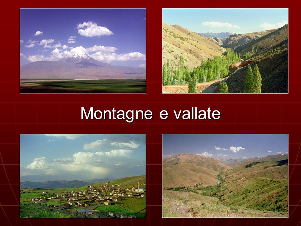 Montagne e vallate