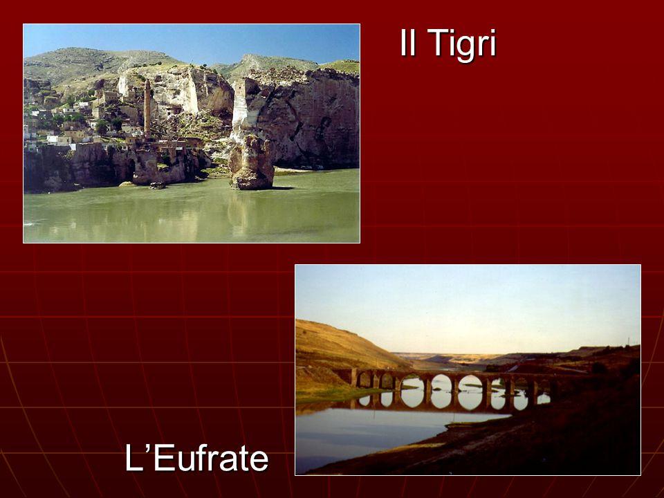 L'Eufrate Il Tigri