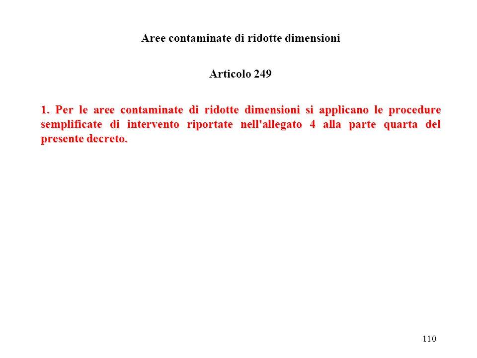 109 Siti soggetti a sequestro Articolo 247 1. Nel caso in cui il sito inquinato sia soggetto a sequestro, l'autorità giudiziaria che lo ha disposto pu