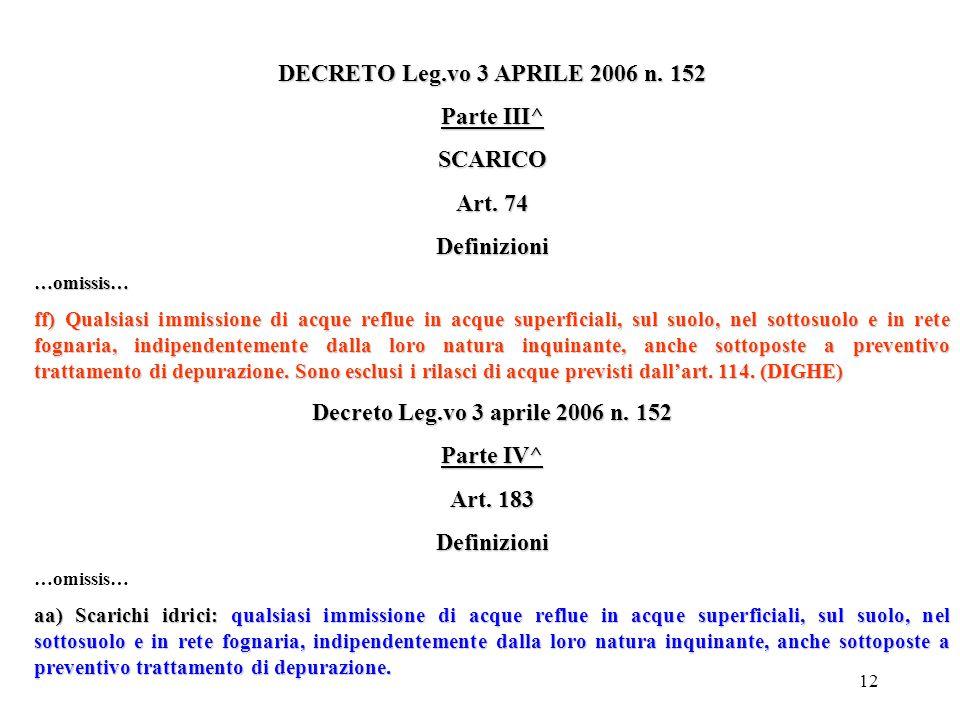 11 CIRCOLARE MINISTRO DELL'AMBIENTE 28/06/1999 L'obbligo di conformare alla disciplina del Decreto Lgs. 5/02/1997, le attività che in base alle leggi