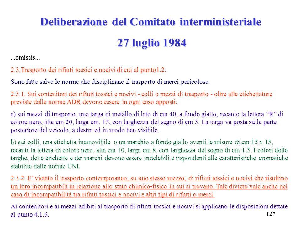 126 Decreto legislativo 27 gennaio 1992 n. 95 Attuazione delle Direttive Comunitarie relative all'eliminazione degli oli usati. La gestione degli oli